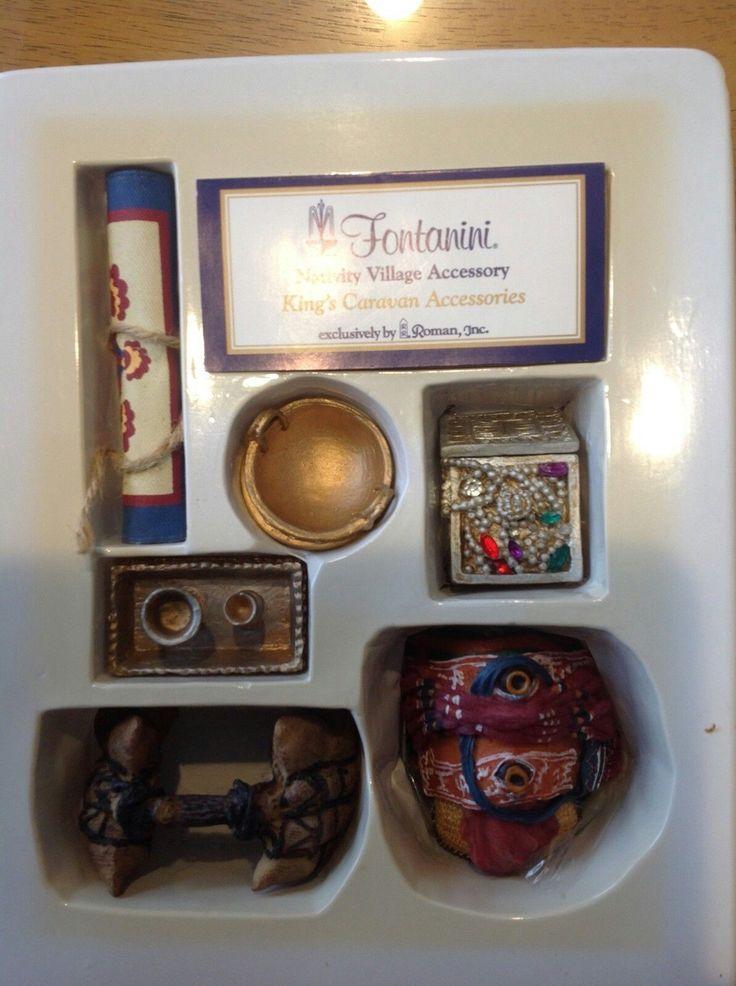 King's Caravan Accessories, 6 pc set. Retired. 51194.