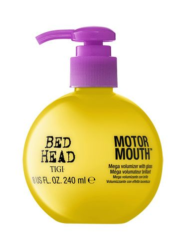 How to Get Thicker Hair - Hair Growth Products - Volumizers can do wonders for hair, but they often rob it of shine. TIGI Bed Head Motor Mouth ($22.99) builds thickness while also imparting a glossy finish.