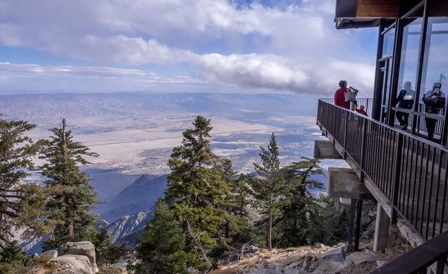 Palm Springs Aerial Tramway, Palm Springs, California