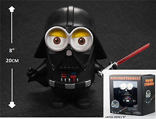 BIGFUNTOYS NEW PRODUCT LARGE 8 20cm Minion Cos Star Wars DARTH VADER PVC Action Figure Toy -- Be sure to check out this awesome product.