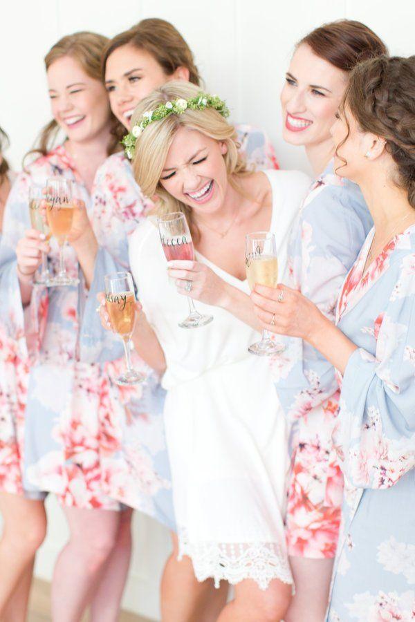 Bridesmaid Gift Ideas 50 Printed Bridesmaid Robes