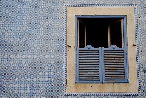 tiled portuguese wall