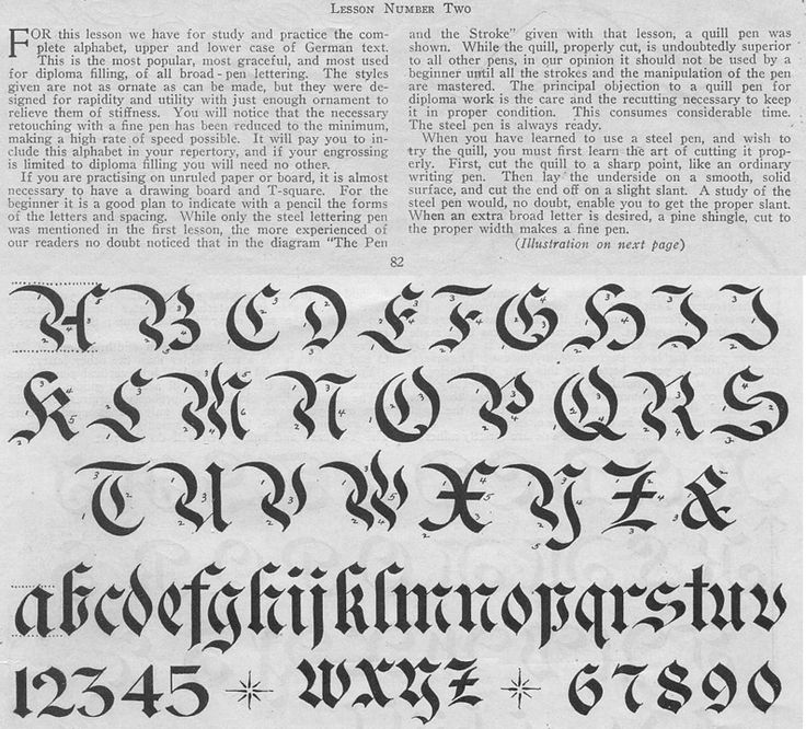 17 Best Images About Calligraphy Lesson Gothic On