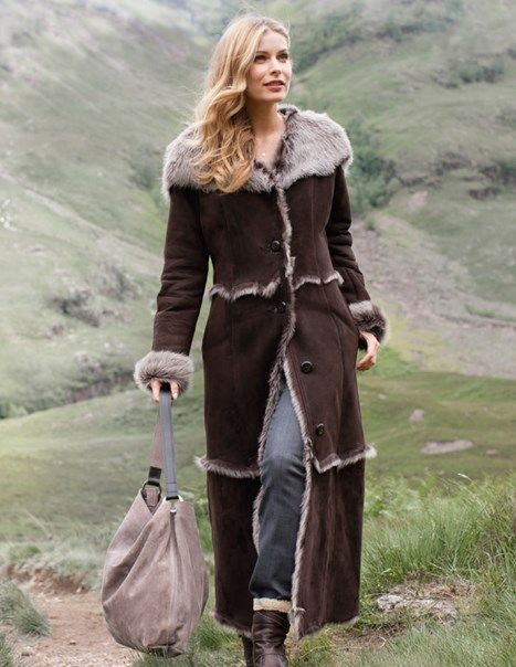 Hooded Toscana Coat, from Celtic & Co
