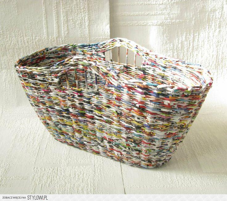 newspaper holder, recycling