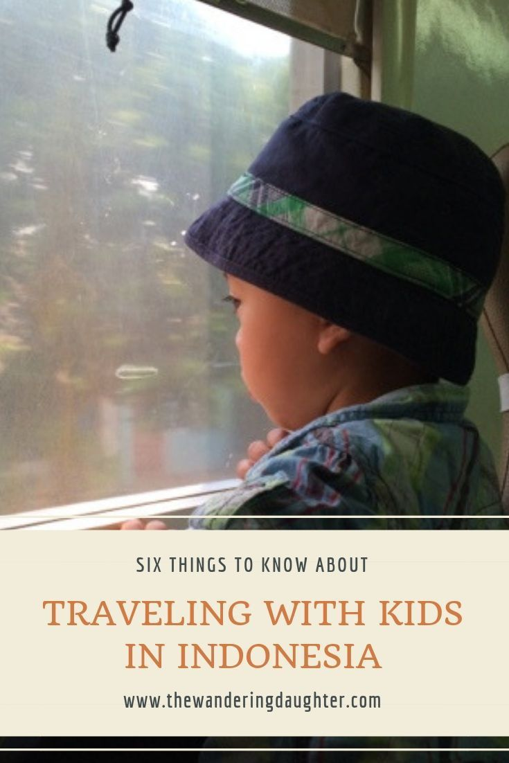 Six Things To Know About Traveling With Kids In Indonesia