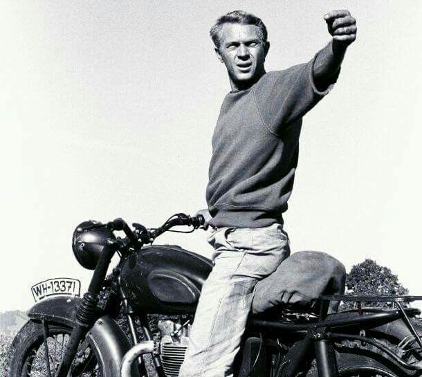 1000 ideas about steve mcqueen motorcycle on pinterest steve mcqueen cars motorcycles and. Black Bedroom Furniture Sets. Home Design Ideas