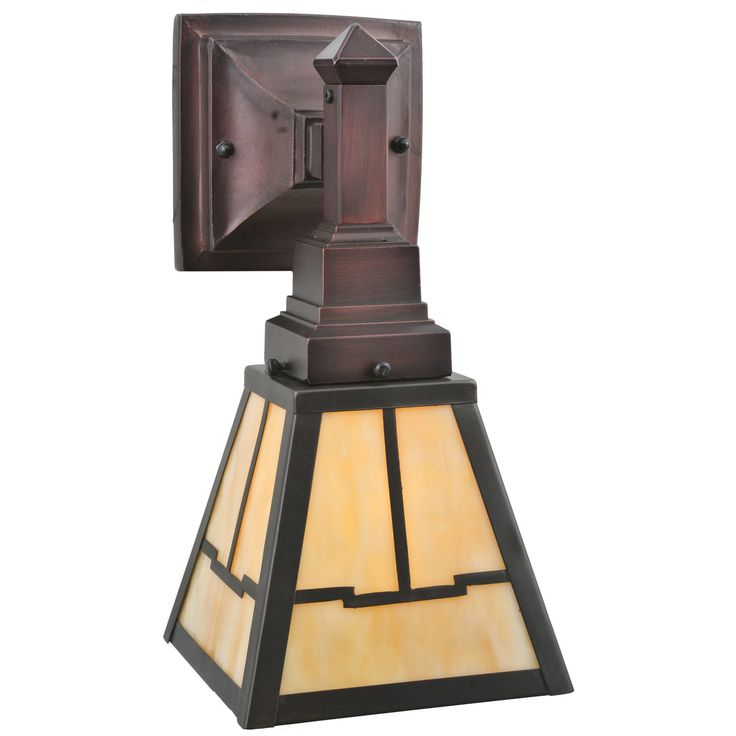 8.75 Inch W Valley View Mission Wall Sconce - Custom Made