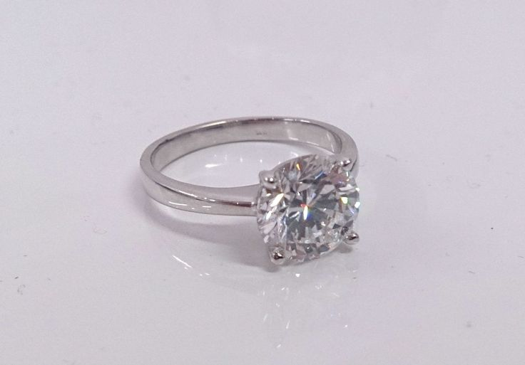 2 ct solitaire diamond ring..what a beauty