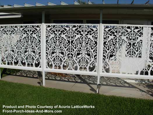 Best 25 lattice fence panels ideas on pinterest deck for Using lattice as fencing
