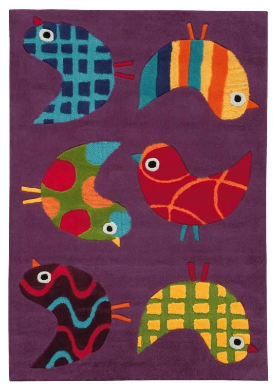 Arte Espina Kids Birds 110 X 160 Cm