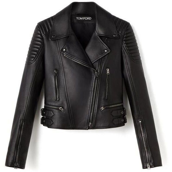 LEATHER BIKER JACKET (6 530 AUD) ❤ liked on Polyvore featuring outerwear, jackets, leather jacket, coats, moto jackets, rider jacket, 100 leather jacket, biker jackets and leather motorcycle jacket