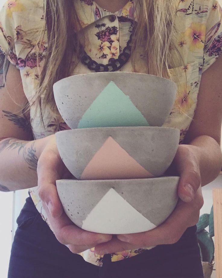 "38 Me gusta, 1 comentarios - danielita (@danielitabrizzi) en Instagram: ""@sucuobjetos #sucuobjetos #pottery #concrete"""