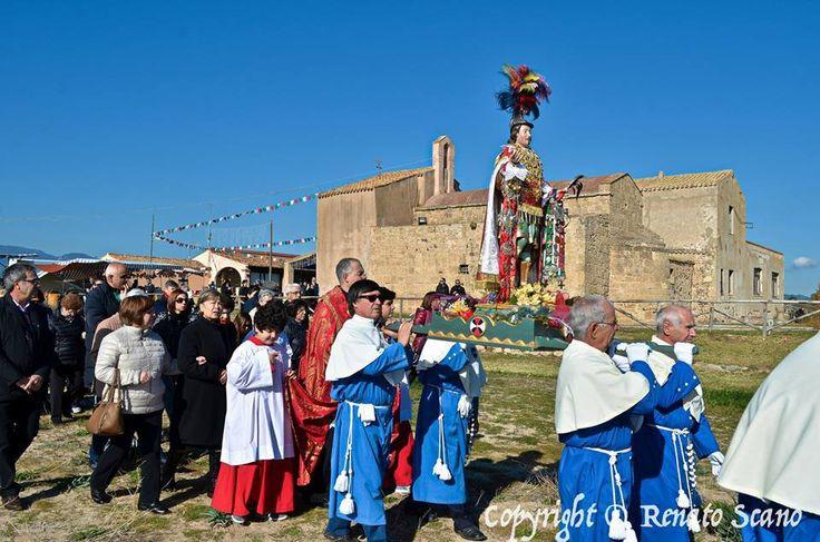 #Nora 15 Gennaio 2015 Festa di Sant'Efisio Pula Gennaio 2015 #Sardegna #Pula #VisitPula © Renato Scano Photos & Video Fonte:https://www.facebook.com/fotodipula.it  https://www.facebook.com/Pula.it/photos/a.148263651963894.3356.142246605898932/275268535930071/?type=1&theater