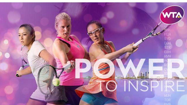 Via WTA: Power To Inspire - WTA Rising Stars Zarina Diyas, Shelby Rogers and Zheng Saisai
