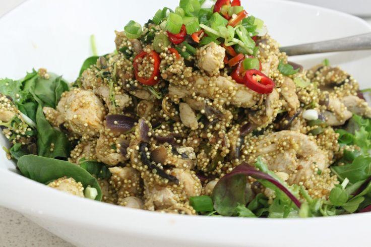 Special chicken and quinoa salad