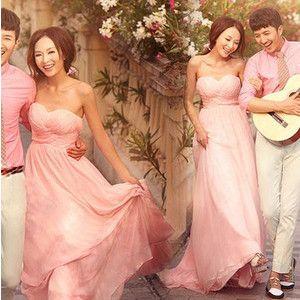 格安 ロングスカート ブライズメイド ドレス パーティードレス 二次会 ブライダル カラードレス 花嫁ウェディングドレス 披露宴 演奏会 結婚式イブニングドレス
