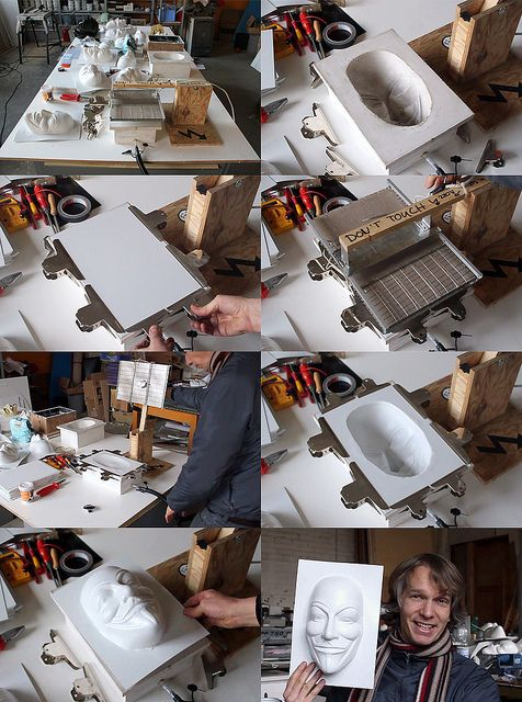 HowTo  ::  'How to Vacuum Form' ( video ::  http://vimeo.com/35194802  : )