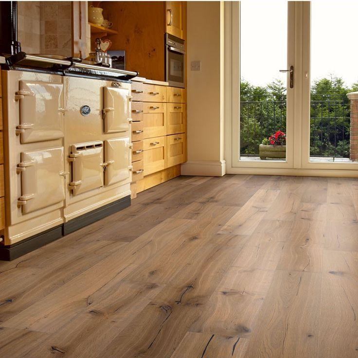Distressed Engineered Oak Flooring Gurus Floor