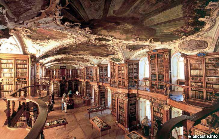Монастырь Святого Галла :: Швейцария, VII в. библиотека