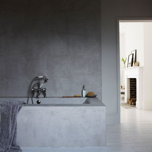 Tadelakt is a stunning, versatile Moroccan plaster suitable for almost any internal or external wall, and a stylish alternative to traditional tiles in bathrooms or wetrooms. It is applied seamlessly, resulting in a beautifully smooth surface free from grout lines. Tadelakt is equally suitable for pools, spas, shower cubicles, wet rooms and hammams (steam rooms). Tadelakt looks spectacular in solid, chunky styles and this Moroccan plaster can be used to create seats, shelves, floors, vanity…