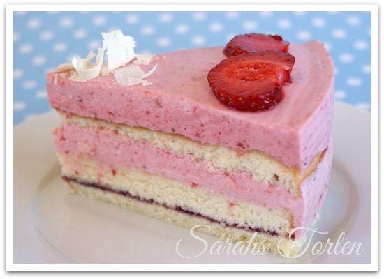 Sarahs Torten und Cupcakes: Ein echter Klassiker: Erdbeer ...