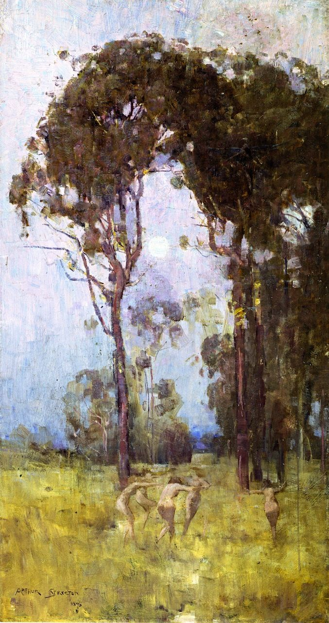 The Athenaeum - What thou amongst the leaves hast never known (Sir Arthur Streeton - )