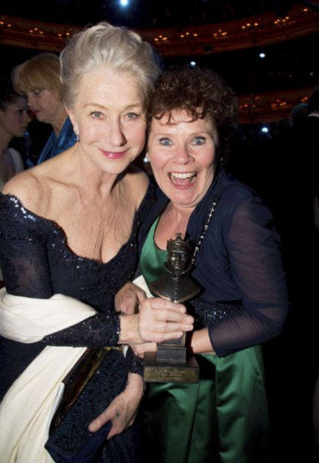 Helen Mirren and Imelda Staunton