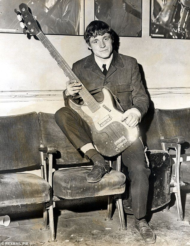 Jack Bruce joined his first major band, Alexis Korner's Blues Inc, in 1962