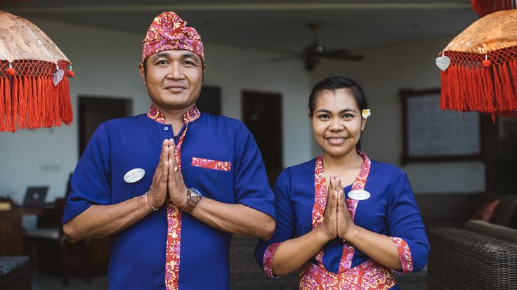 Friendly Faces dream family Bali resort Indonesia