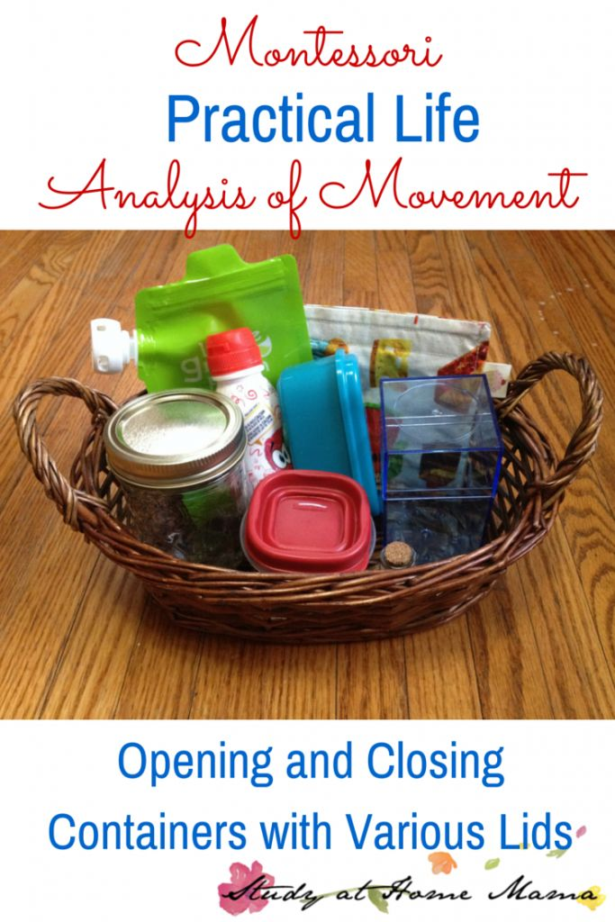 Montessori Practical Life: Analysis of Movement ⋆ Study at Home Mama
