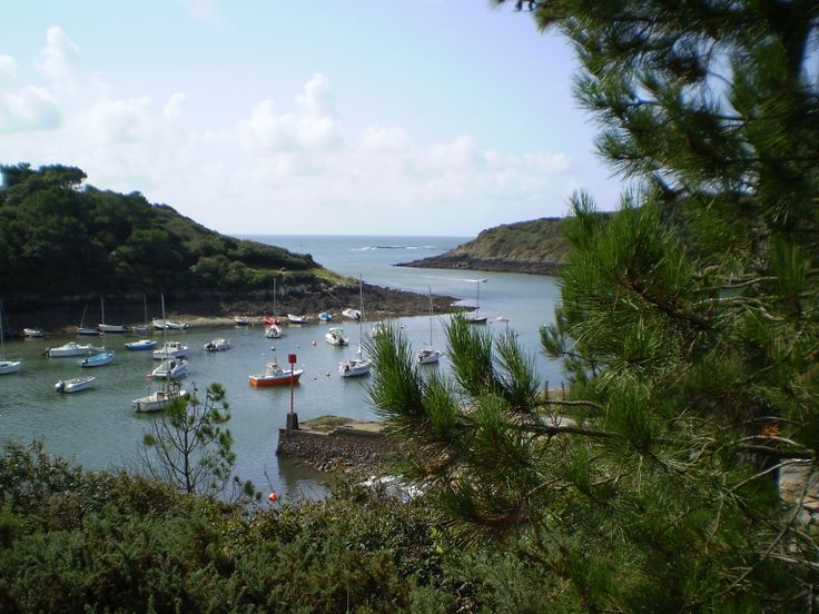Port de Merrien - Finistère.