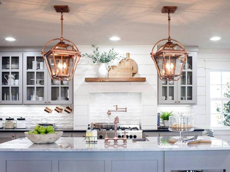 Joanna Gaines Decor Advice Fixer Upper Kitchen Fixer Upper Kitchen Pendants