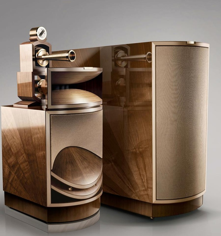 """Living Voice - Vox Olympian, Audiophile High End Hornspeakers"" !... http://about.me/Samissomar"