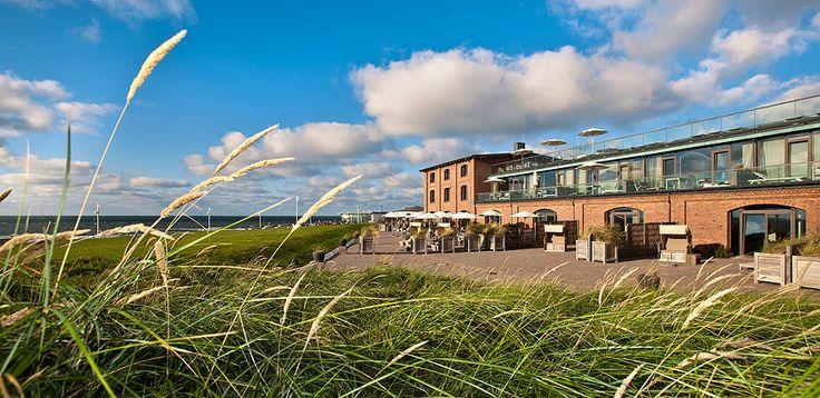 """Strandhotel in Deutschland: Seesteg auf Norderney (aus """"Die Top-Ten der besten Hotels am Strand"""")"""