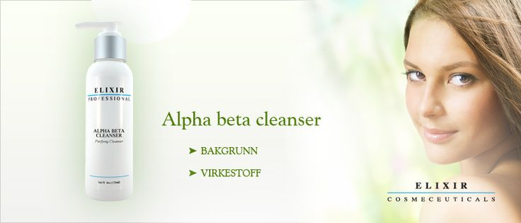 Elixir Cosmeceuticals tilbyr et bredt utvalg av Renseprodukter for sensitive og uren hud.