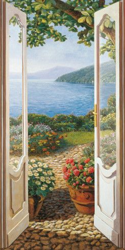 Title Unk. Beautiful Patio View' Artist: Andrea Del Missier at AllPosters.com