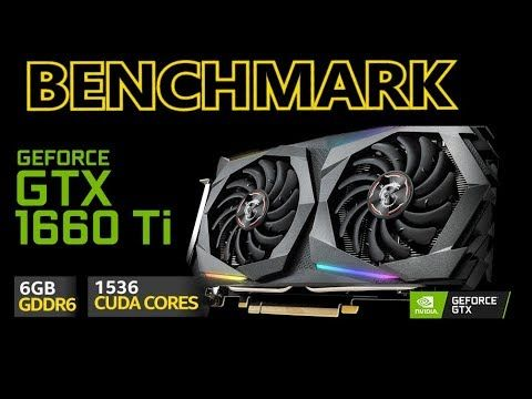 GTX 1660 Ti vs RTX 2060 vs GTX 1080 Ti vs GTX 1070 vs GTX