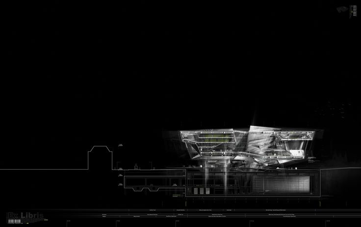 Alexander Daxböck - New Design for the National Archive/Library in Prague