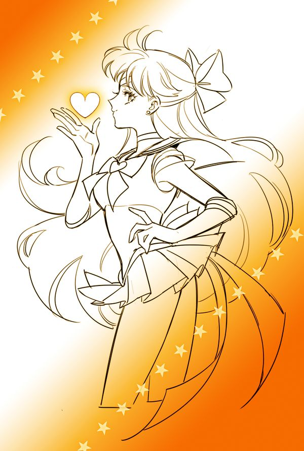 """""""I wish I could be Sailor V."""""""