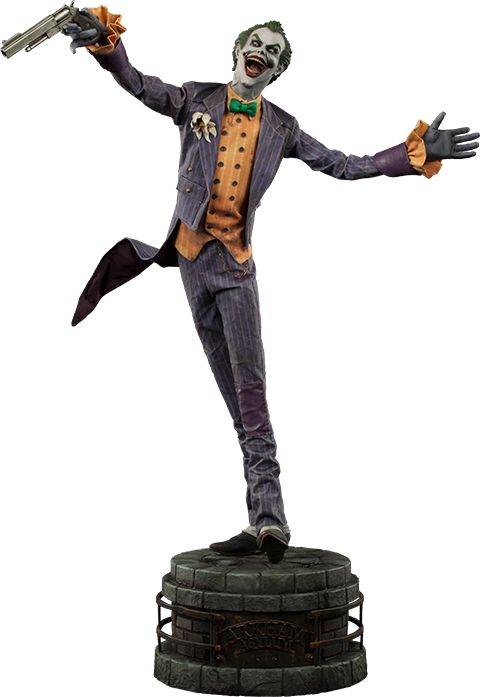 DC Comics Joker Arkham Asylum Premium Format(TM) Figure by S | Sideshow Collectibles