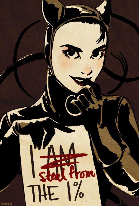 Ha! Catwoman by Sairobi