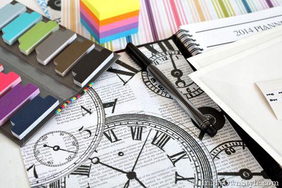 Planner Organization Ideas | Decorated Day Planner | InMyOwnStyle