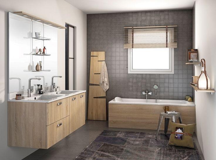 Die besten 25+ Badezimmer 6m2 Ideen auf Pinterest Badezimmer 6 5 - holz für badezimmer