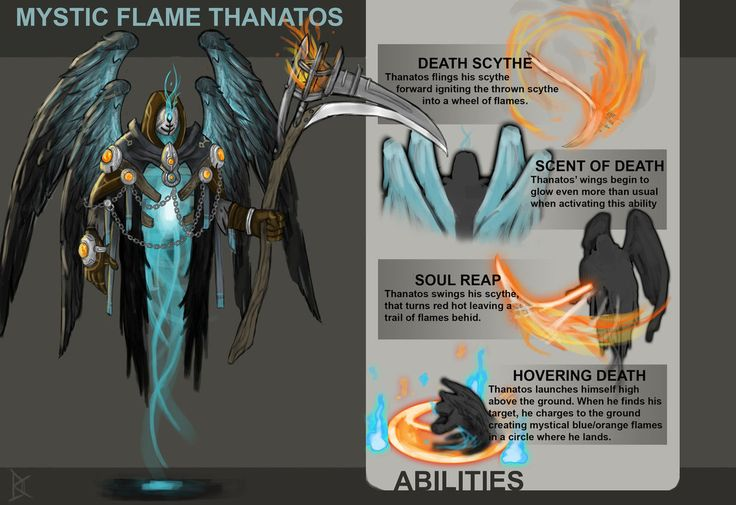 A Smite skin concept I made about year ago for the 2015 odyssey contest. The best skin concept for the god Thanatos would make into in the game. Sadly I didn't win but I had a lot of fun creat...