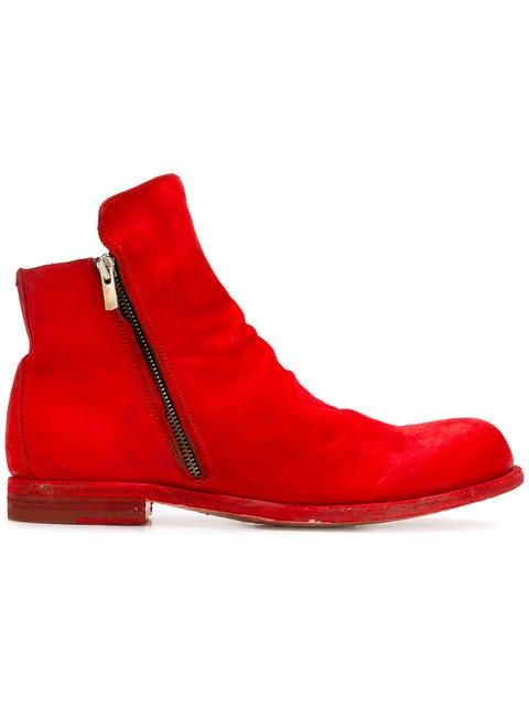 Shop Officine Creative zipped ankle boots .