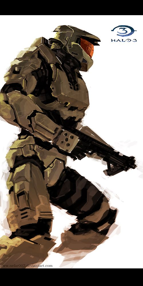 1000 images about halo mecha design on pinterest halo - Master chief in halo reach ...