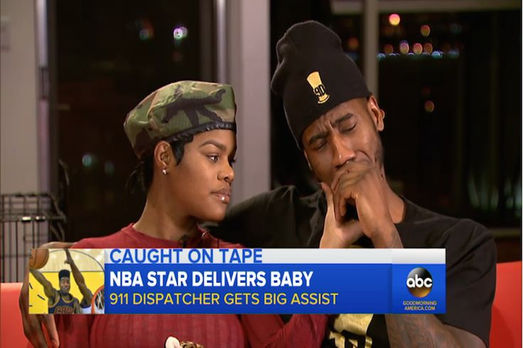 NBA Star Breaks Down In Tears Talking About How He Helped Deliver His Baby At Home Singer Teyana Taylor and her fiance NBA star Iman Shumpert were surprised when their daughter came weeks before her expected delivery date.  Watch the beautiful couple talk about how they delivered their baby in their bathroom.   ABC Breaking News | Latest...