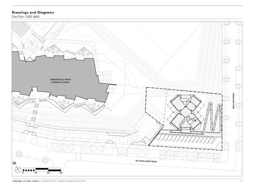 Hobsonville Point Early Learning Centre,Site Plan