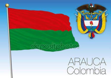 Bandiera regionale di Arauca, Colombia — Vettoriali  Stock © frizio #140261388